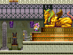 Wario and the Sphinx from the third episode of Wario: Master of Disguise.