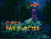 The logo for C'est pas sorcier.
