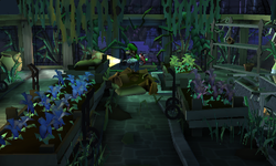 The Greenhouse segment from Luigi's Mansion: Dark Moon.