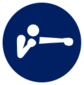 Event icon used for Boxing in Mario & Sonic at the Olympic Games Tokyo 2020
