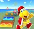 SNES Koopa Troopa Beach 2R from Mario Kart Tour