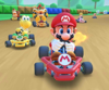 The icon of the Wendy Cup challenge from the Super Mario Kart Tour in Mario Kart Tour.