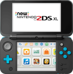 New Nintendo 2DS XL front