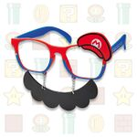 Mario glasses from Super Nintendo World