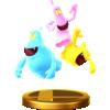 Ghosts' trophy render from Super Smash Bros. for Wii U