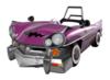 Sticker of the Wario Car from Super Smash Bros. Brawl.