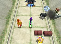 Thrash 'n' Crash from Mario Party 8