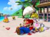 Mario on the Beach