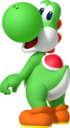 Yoshi artwork for Mario Party: Island Tour (also used in Mario Party: The Top 100)