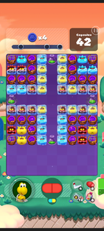Stage 569 from Dr. Mario World