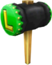 Luigi's Hammer from Mario Kart Arcade GP. Rendered using Blender.