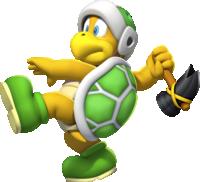 Hammer Bro in New Super Mario Bros. U
