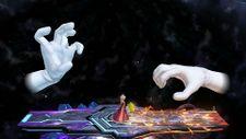 Crazy Hand, alongside Master Hand, in Super Smash Bros. for Nintendo 3DS and Super Smash Bros. for Wii U