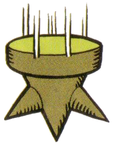 Artwork of a Falling Spike from Super Mario Land 2: 6 Golden Coins.