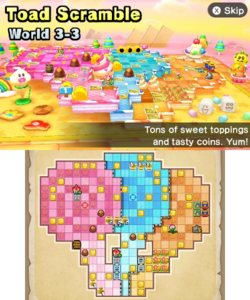 World 3-3 from Mario Party: Star Rush