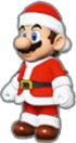 Mario's Santa Outfit icon in Mario Kart Live: Home Circuit