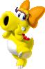 Artwork of Birdo (Yellow) from Mario Kart Tour