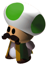 The Chancellor from Super Mario RPG: Legend of the Seven Stars