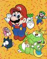 SMB2 - Nintendo Power Promotional Artwork.png
