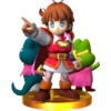 Trophy for the Prince of Sablé in Super Smash Bros. for Nintendo 3DS