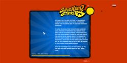Screenshot of Super Mario Strikers Advergame