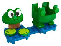 The LEGO Super Mario Frog Mario Power-Up Pack.