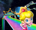 3DS Rainbow Road from Mario Kart Tour