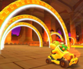 The icon of the Bowser Jr. Cup challenge from the 2020 Yoshi Tour in Mario Kart Tour.