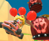 The icon of the Mario Cup challenge from the London Tour in Mario Kart Tour.