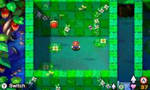 Screenshot of Mini-Mario in Mario & Luigi: Superstar Saga + Bowser's Minions