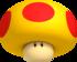 Mega Mushroom artwork from New Super Mario Bros. 2