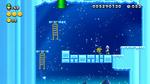 Luigi sighting in Slippery Rope Ladders from New Super Luigi U