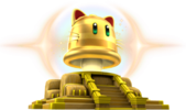Art of the Giga Bell from Super Mario 3D World + Bowser's Fury