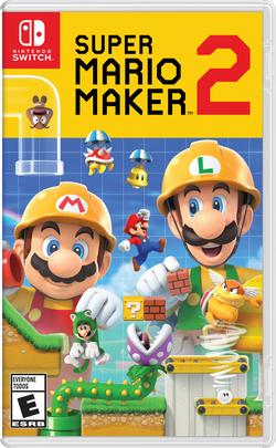Super Mario Maker 2 boxart
