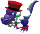 Croco from Super Mario RPG: Legend of the Seven Stars