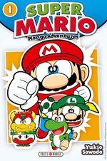 Cover of Super Mario: Manga Adventures.