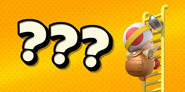 Banner for a Play Nintendo opinion poll on the heaviest thing in Captain Toad's backpack. Original filename: <tt>2x1-what_is_in_the_capt_toad_backp.0290fa9874e6c2e6db1c3f61b1e85eb024429302.jpg</tt>