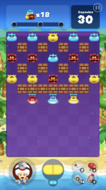 Stage 81 from Dr. Mario World