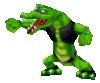 A green Kritter, in Mario Power Tennis.