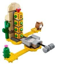 The LEGO Super Mario Desert Pokey Expansion Set.