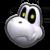 Dry Bones's icon from Mario Kart Tour.