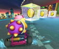 The icon of the Luigi Cup challenge from the London Tour and the Morton Cup challenge from the Peach Tour in Mario Kart Tour.