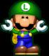 Mini Luigi, from Mini Mario & Friends: amiibo Challenge