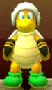 Hammer Bro as viewed in the Character Museum from Mario Party: Star Rush