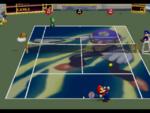 Waluigi court in the game Mario Tennis (Nintendo 64).