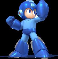 Mega Man's artwork from Super Smash Bros. for Nintendo 3DS / Wii U