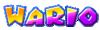 Wario's name from Mario Kart Arcade GP 2
