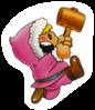 A Sticker of Nana in Super Smash Bros. Brawl.