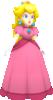 Rendered model of Princess Peach in Super Mario Galaxy.