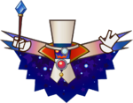 Count Bleck trophy from Super Smash Bros. for Wii U